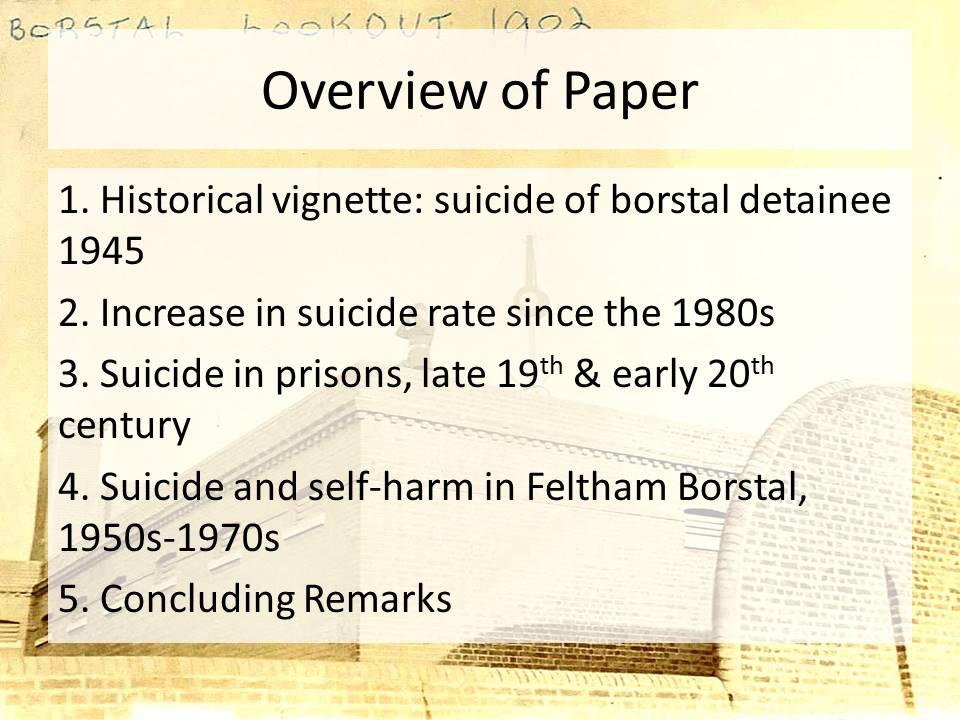 juvenile suicide rates in prison