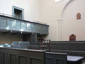 Kilmainham Gaol, Kilmainham 11 – Kilmainham Courthouse Courtroom