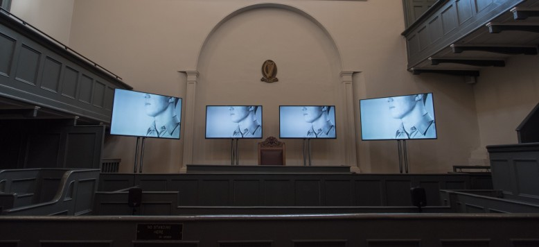 01._The_Trial___4_Channel_Synced_Video___Sound_Installation